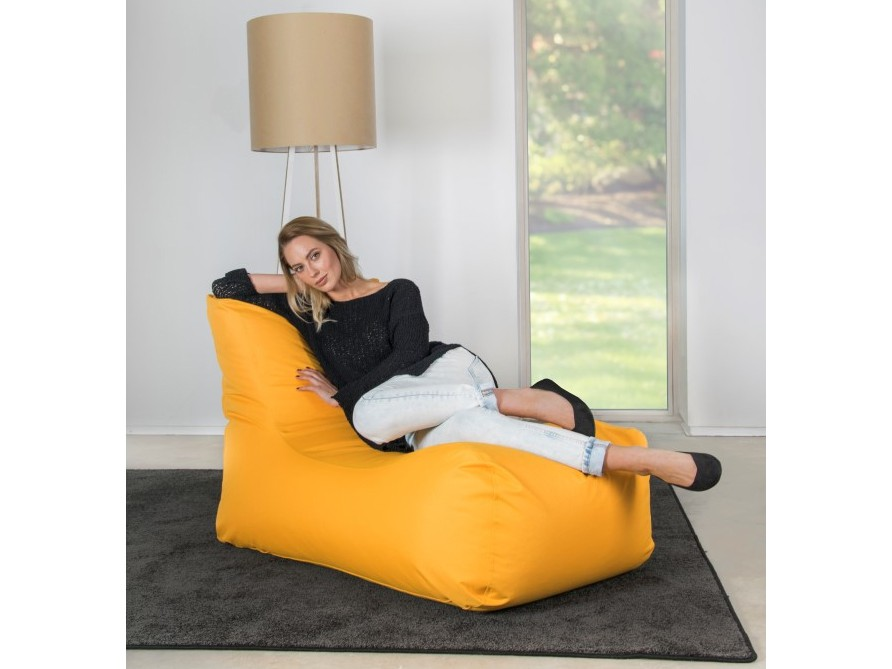 Sitzsack Lounge mit einmaligen Komfort beim Relaxen.
