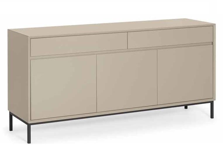 Sideboard Fiete - 160 cm lackiert mit Griffleiste in Farbe nach Wahl
