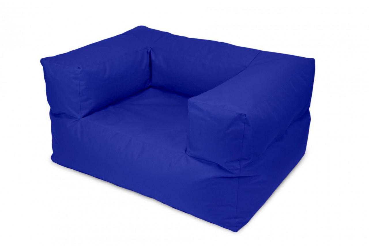 Sitzsack / Sessel MOOG  -  Stoff OX - Farbe Blau